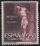 Sellos de Europa - España -  Misterios d´Santo Rosario (Flagelacion)