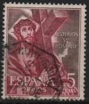 Sellos de Europa - España -  Misterios d´Santo Rosario (Cristo Con LaCruz)