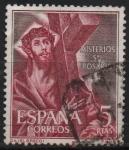 Sellos del Mundo : Europa : España : Misterios d´Santo Rosario (Cristo Con LaCruz)