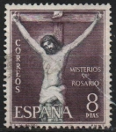 Stamps Spain -  Misterios d´Santo Rosario (Crucifixion)