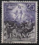 Stamps : Europe : Spain :  Misterios d´Santo Rosario (Ascesion)