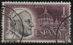 Sellos de Europa - España -  Concilio Ecumenico Vaticano II (Juan XXIII )