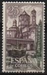 Sellos de Europa - España -  Real Monasterio d´Santa Maria d´Poblet (Jardin y Claustro)