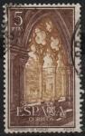 Sellos de Europa - España -  Real Monasterio d´Santa Maria d´Poblet (Detalle d´Claustro)