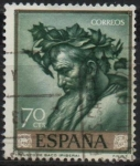 Stamps Spain -  Triunfo d´Baco