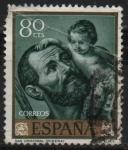 Sellos de Europa - España -  San Cristobal