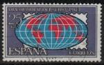 Stamps Spain -  Dia mundial d´sello 1963