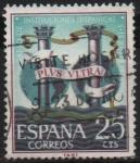 Sellos de Europa - España -  Congreso d´Instituciones Hispanicas ( Alegotia)