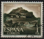 Stamps Spain -  Conmemoraciones centenarias d´San Sebastian (Vista General)