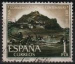 Sellos de Europa - España -  Conmemoraciones centenarias d´San Sebastian (Vista General)