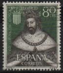 Stamps Spain -  LXXV aniversario d´l´coronacion d´Nuestra Señora d´l´Merced (Jaimen I )