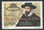 Stamps : Europe : Spain :  5002 - V Centº del nacimiento de Francisco Álvarez de Toledo