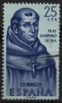 Stamps Spain -  Fray Junipero Serra