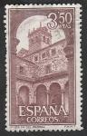 Sellos del Mundo : Europa : España : 1895 - Claustro del Monasterio de Santa María del Parral