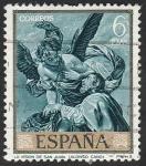 Sellos del Mundo : Europa : España : 1919 - La Visión de San Juan, de Alonso Cano