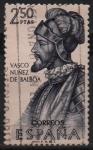 Sellos de Europa - España -  Vasco Nuñez d´Balboa