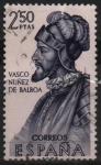 Stamps Spain -  Vasco Nuñez d´Balboa