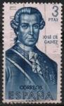 Sellos de Europa - España -  Jose d´Galvez