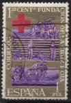 Stamps Spain -  Centenario d´l´cruz roje internacional