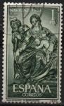 Sellos de Europa - España -  Navidad (Nacimiento 1963)