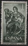 Stamps Spain -  Navidad (Nacimiento 1963)