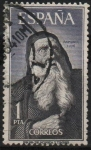 Stamps Spain -  Personajes Españoles (Raimundo Lulio)