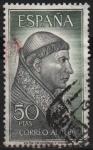 Stamps Spain -  Personajes Españoles (Francisco Jimenez d´Cisneros)