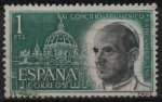 Stamps of the world : Spain :  Pablo VI