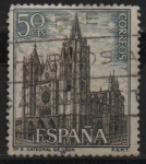 Stamps Spain -  Catedral d´Leon