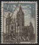 Stamps of the world : Spain :  Catedral d´Leon