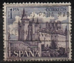 Stamps of the world : Spain :  Alcazar d´Segovia