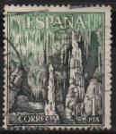 Stamps Spain -  Cuevas dl Drach (Mallorca)