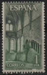 Stamps Spain -  Monasterio d´Santa Maria d´Huerta (Cenovio)