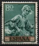 Stamps : Europe : Spain :  Pescadora Valenciana