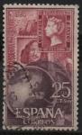 Sellos de Europa - España -  Dia mundial d´sello 1964