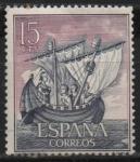 Stamps Netherlands -  Homenaje a la marina Española (Nave medieval)