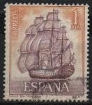 Sellos de Europa - España -  Homenaje a la marina Española (Santisima Trinidad)