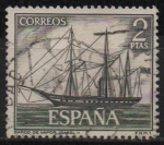Sellos de Europa - España -  Homenaje a la marina Española (Isabel II)