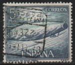 Sellos de Europa - España -  Homenaje a la marina Española (Submarino d´Isaac Peral )
