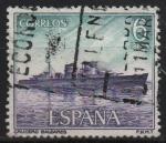 Sellos del Mundo : Europa : España :  Homenaje a la marina Española (Crucero Baleares )