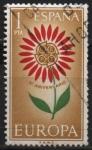 Sellos de Europa - España -  Europa 1964