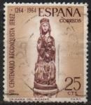 Stamps Spain -  VII centenario d´l´Reconquista d´Jerez (Virjen d´Alcazar)