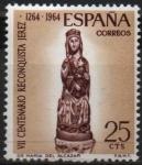 Sellos de Europa - España -  VII centenario d´l´Reconquista d´Jerez (Virjen d´Alcazar)