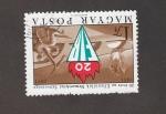 Stamps Hungary -  XX Aniv. de la Federación Internacional de Resistentes