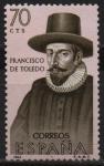 Stamps Spain -  Francisco d´Toledo