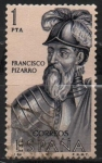 Sellos de Europa - España -  Francisco Pizarro