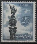 Stamps Spain -  Monupento a Colon