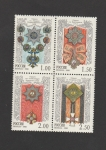 Stamps Russia -  Orden San Jorge