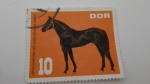 Stamps : Europe : Germany :  Caballos /DDR