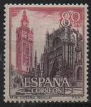 Sellos de Europa - España -  Catedral d´Sevilla